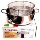 Metalsomma Friggitrice con cestello 803/24