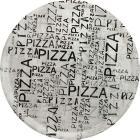SATURN Piatto Pizza 31 White & Black (AZ)
