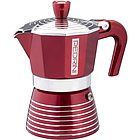 Caffettiera in alluminio Infinity rosso