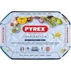 Pyrex 6432 Tegame Rettangolare in Vetro