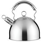 Bollitore con fischio in acciaio inox 2,5 litri