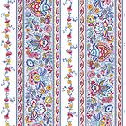 Tovaglia rotonda Gentiane Multicolore 180cm