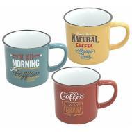 Mug in ceramica Vintage (decori assortiti)