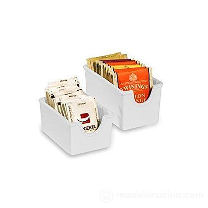 Porta bustine zucchero porcellana