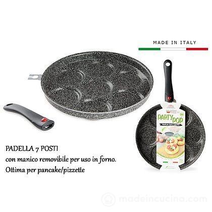 Padella per 7 pancake Happy Hour cm 28