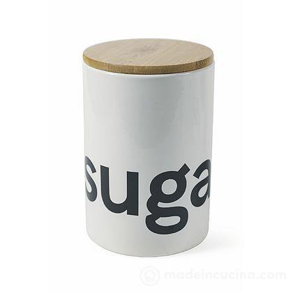 Barattolo zucchero in gres Bamboo