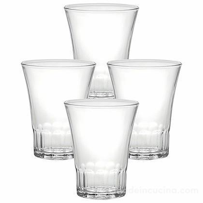 Set 4 bicchieri acqua Amalfi