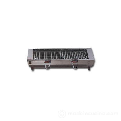 Griglia elettrica professionale acciaio inox
