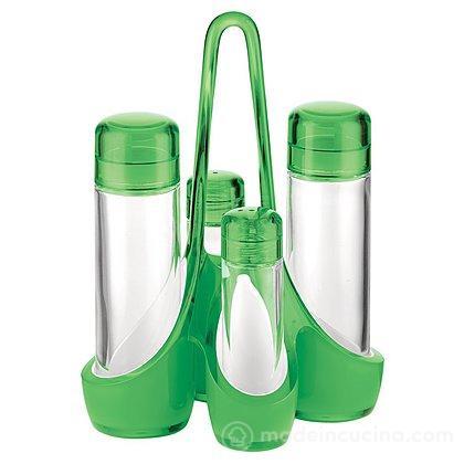 Menage bicolore Vintage verde