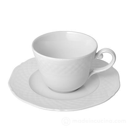 Tazza da tè con piattino Arianna