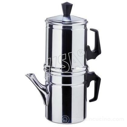 Caffettiera alla napoletana in alluminio