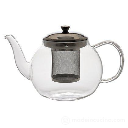 Teiera con filtro in acciaio Tea Time