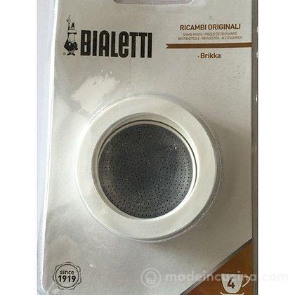 Confezione 3 guarnizioni con filtro Brikka