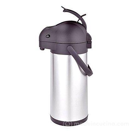Caraffa termica a pompa Airpot in acciaio inox 3 litri Tokio