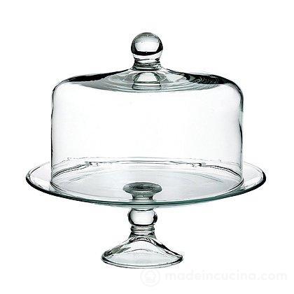 Alzata in vetro con cupola (8595) - Royal Leerdam ...