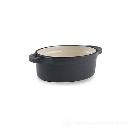 Mini casseruola in ghisa con interno in ceramica