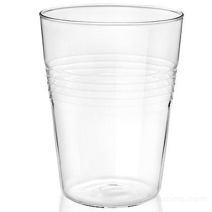 Set 4 bicchieri da bibita in vetro borosilicato Conic Loft