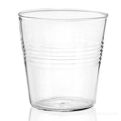Set 4 bicchierini da liquore in vetro borosilicato Conic Loft