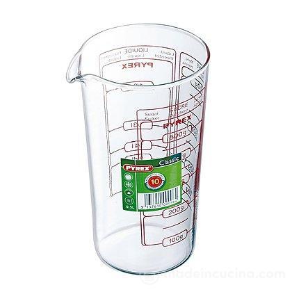 Contenitore graduato Pyrex litri 0,5
