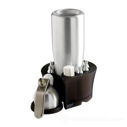 Porta sifone con accessori