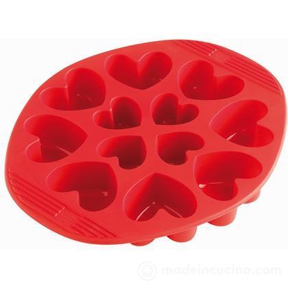 Stampo 12 muffin a cuore