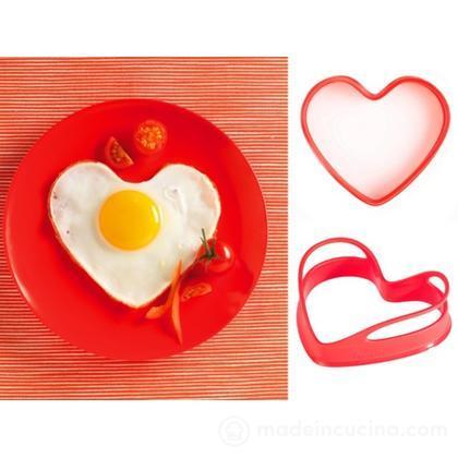 Stampini per uovo Cuore, set 2 pz.