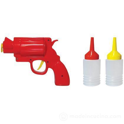 Pistola spara salse con dispenser