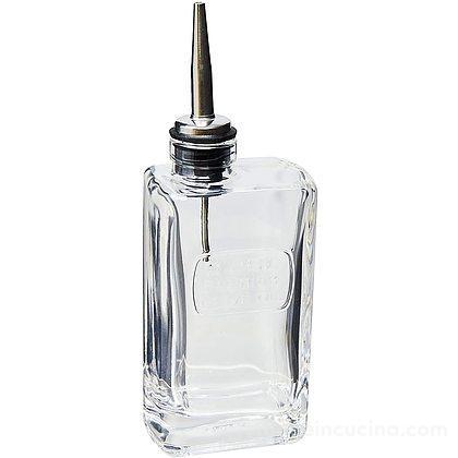 Ampolla olio con tappo versatore Optima 0,25 litri