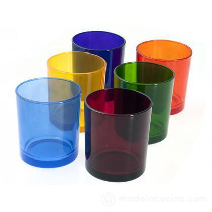 Set 6 bicchieri acqua Trendy