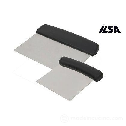 Raschietto rettangolare in acciaio inox