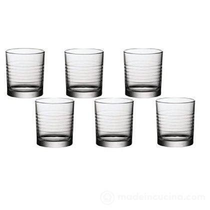 Set 6 bicchieri acqua Arena