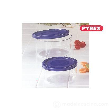 Contenitore in vetro con tappo in plastica per alimenti