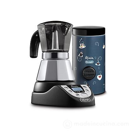 Caffettiera elettrica Alicia Plus EMKEP42B + dosa caffé DCM1