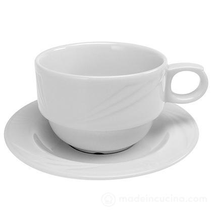 Tazza da tè con piattino Arcadia
