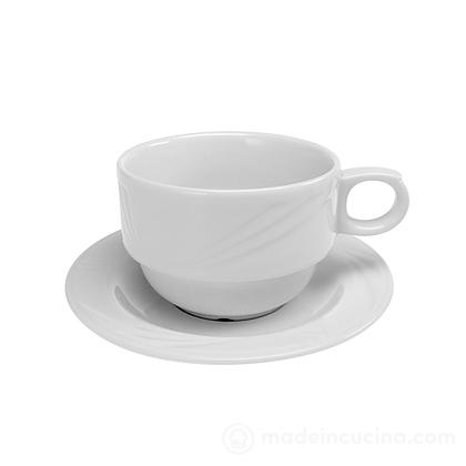 Tazzina da caffè con piattino Arcadia