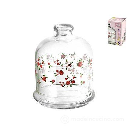 Contenitore in vetro con coperchio Spring