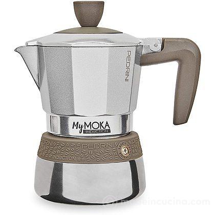 Caffettiera in alluminio per induzione My Moka 2 tazze