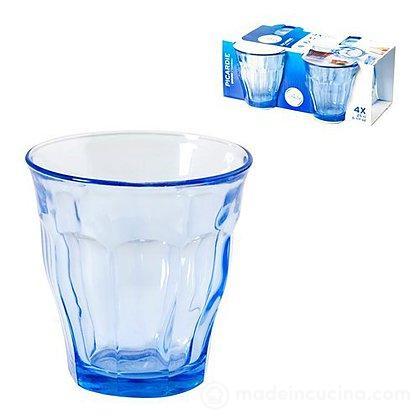 Set 4 bicchieri acqua Picardie Marine
