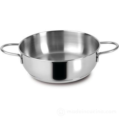 Casseruola bassa acciaio inox Gran Cucina
