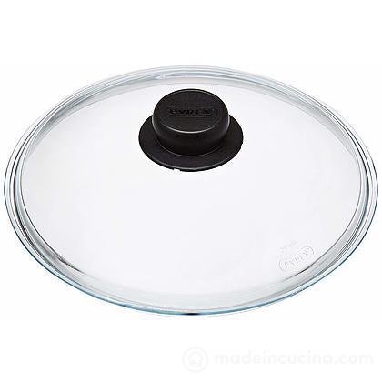 Coperchio in vetro trasparente