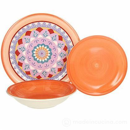 Servizio piatti 18 pezzi Spicy Gypsy - Tognana | madeincucina.com