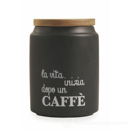 Barattolo caffè con coperchio in bambù Idee