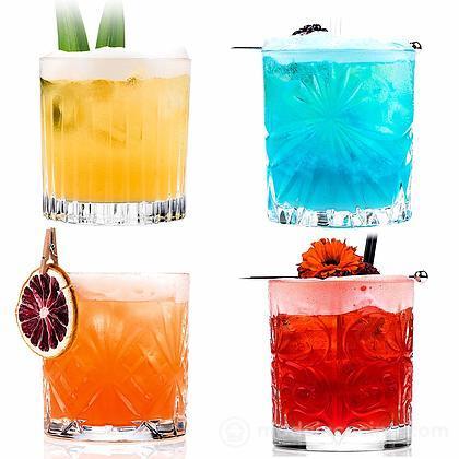Set 4 bicchieri tumbler Mixology