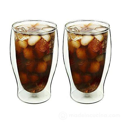 Set 2 bicchieri termici da bibita bormioli luigi for Bicchieri termici