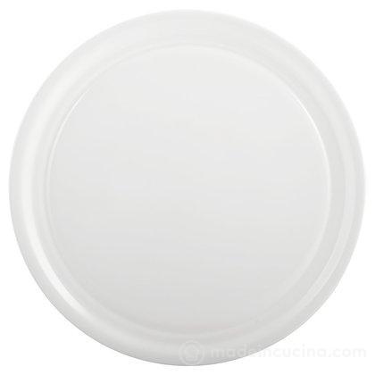 Piatto pizza in vetro opale Zenyx