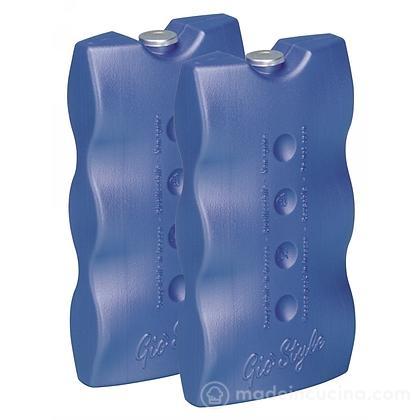 Set 2 siberini mattonelle ghiaccio per frigo portatile