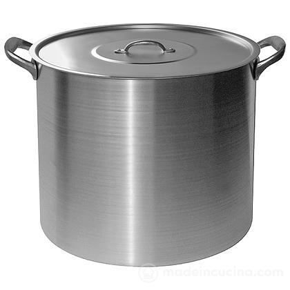 Pentola pomodoro tipo Nord in alluminio con coperchio