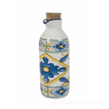Oliera in ceramica con tappo in sughero Costiera