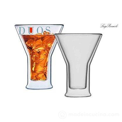 Set 2 bicchieri termici aperitivo Duos