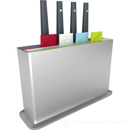 Taglieri e coltelli Index Plus, set 8 pz.